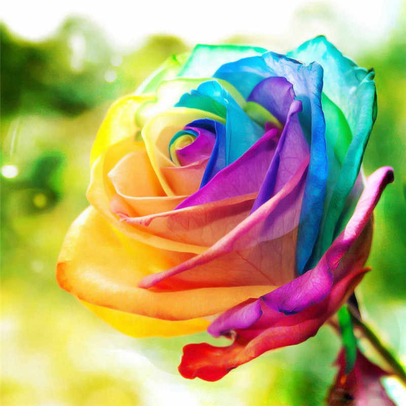 5D DIY Алмазная Цветочная композиция ваза для цветов вышивка крестиком Алмазная вышивка мозаика Алмазный домашний декор