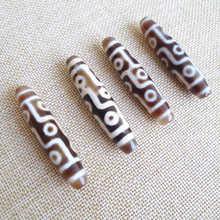 TSB0494 Тибетский старый девять глаз дзи бусины 57-58 мм Натуральный Сердолик антикварные дзи хорошее качество дзи
