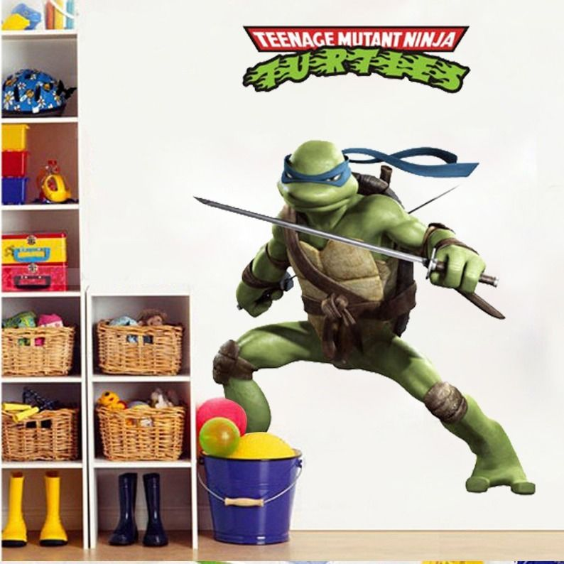 for giant donatell teenage mutant ninja turtles pics photos giant wall stickers decals murals for kids