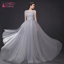 Sliver Long Prom Kleid Sexy illusion Spitze Elegante kleid Abendkleid importierte gelegenheits-kleid Z313