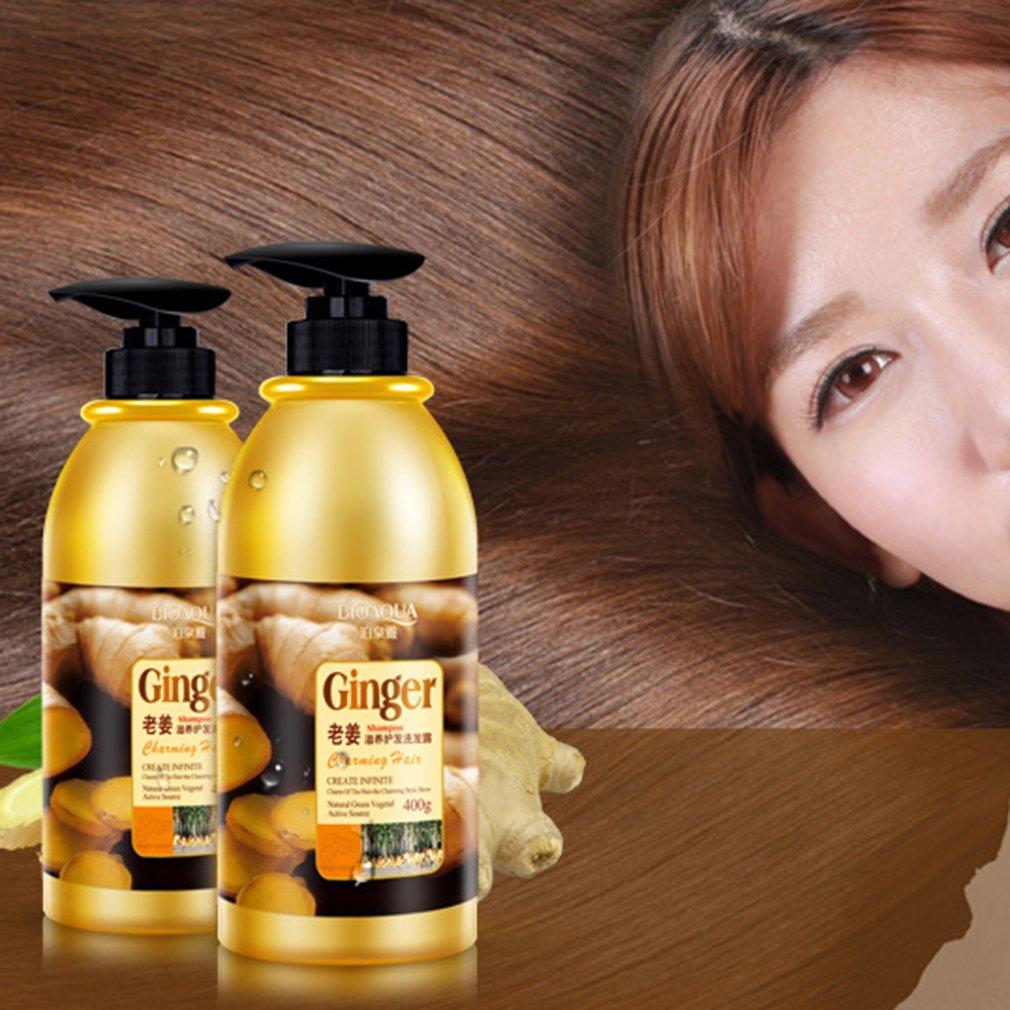 BIOAQUA Natural Herbal Ginger Shampoo Anti Hair Loss And Hair Growth Fast Oil Control Hair Mask Hair Care