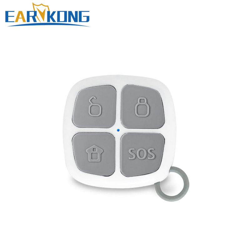 Alarm-System Key-Chain Remote-Controller Wifi 4-Button 433mhz Wireless for G90B G90E/WIFI/GSM