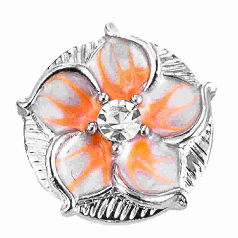 Новые кнопки ювелирные изделия череп металлические 18 мм кнопки подходят браслет с украшением в виде кнопки ювелирные изделия TZ9184