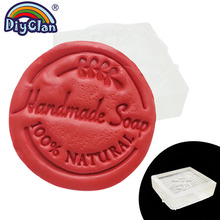 100% Nutural handmade resin soap stamp Branch Clear diy natural organic glass soap chapter acrylic soap making chapters 3Z0156HS