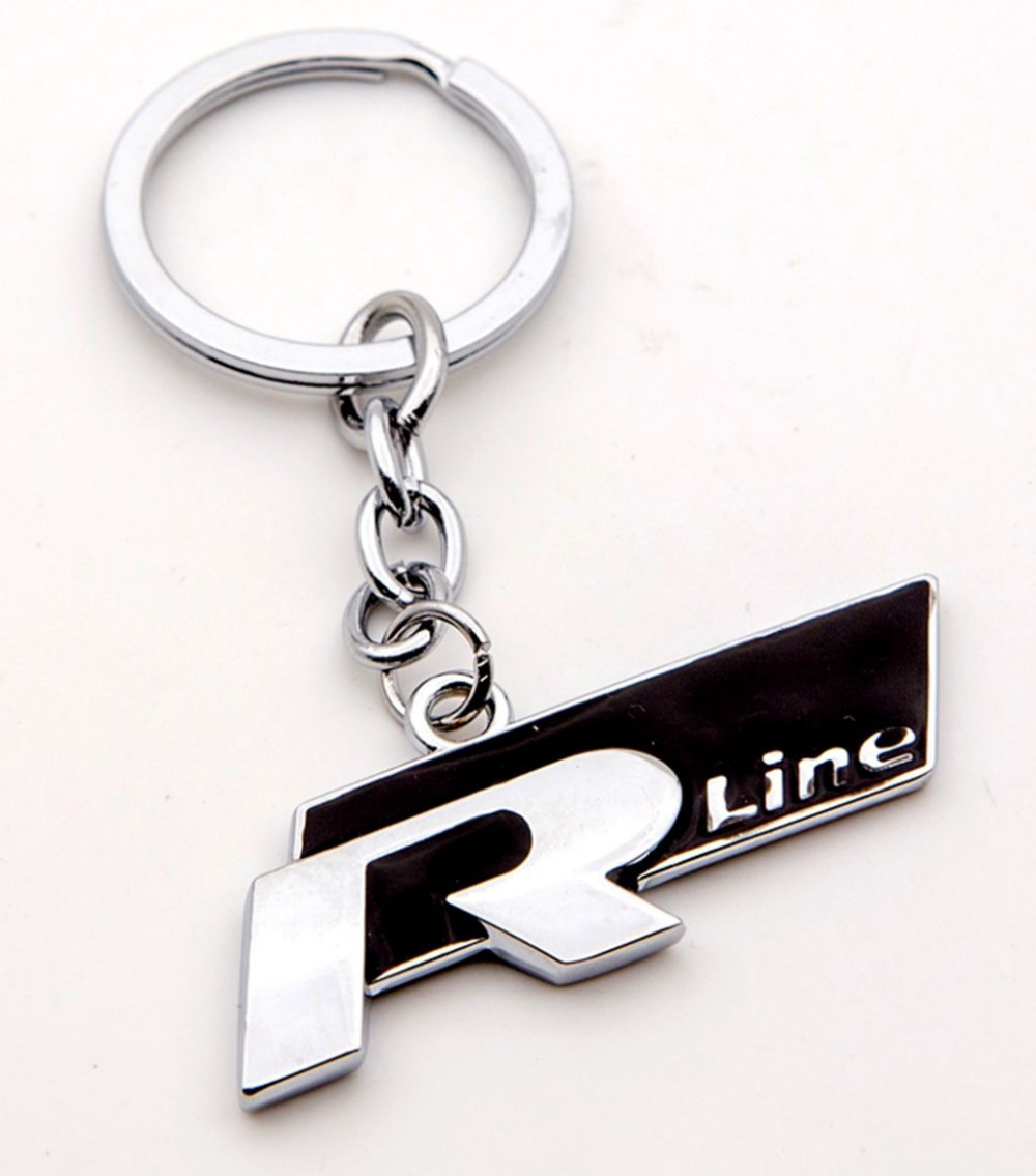 Volkswagen scirocco golf vi and passat cc r line photos image 5 - 3d R Line Logo Key Chain Keychain Key Ring Keyrings Key Fob For Vw Golf 5 6 7 Cc Polo Scirocco Tiguan Free Shipping