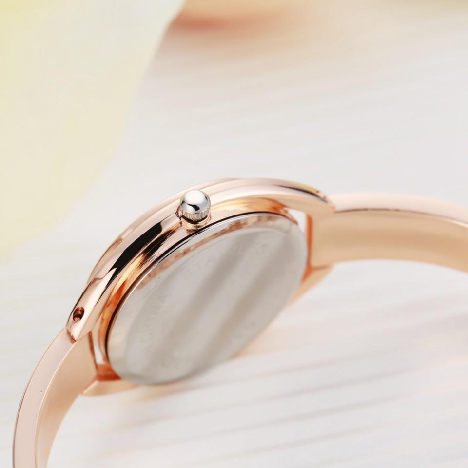 Luxury Women Watches Fashion Ladies Creative Wristwatch Sport Gold Quartz -