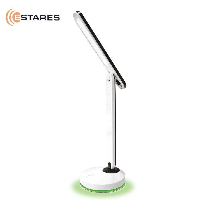 ESTARES Table lampe LED RADUGA 3 W RGB blanc/noir (avec batterie)