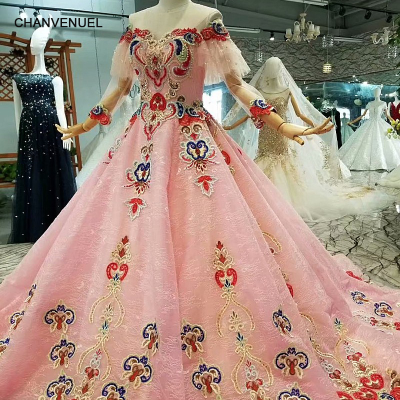 LS471144 color flowers pink girl beauty pageant short sleeves o neck beaded girl occasion dress china wholesale free shipping