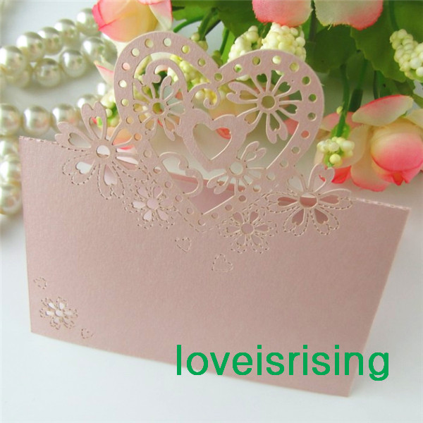 Aliexpress buy hot sale 50pcs white color laser cut place aliexpress buy hot sale 50pcs white color laser cut place cards wedding name cards for wedding party table decoration 7 colors u pick from reliable solutioingenieria Image collections