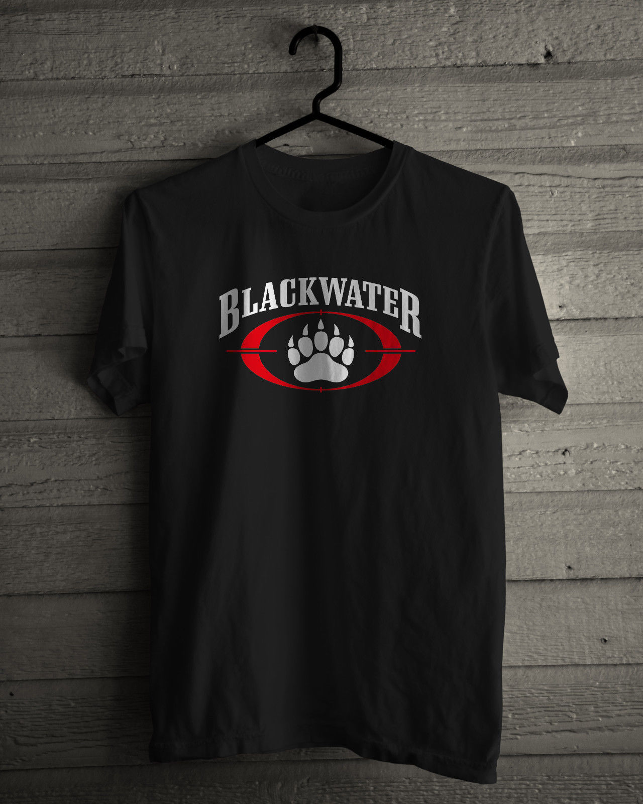 Black t shirt security - Blackwater T Shirt Private Security Company Short Sleeve Tee Black Or White Youth Round