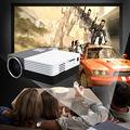 2016 nova GM50 Mini Led casa para Video Games TV suporte filme HDMI VGA AV portátil Beamer para Laptop adaptador projetor # S0167