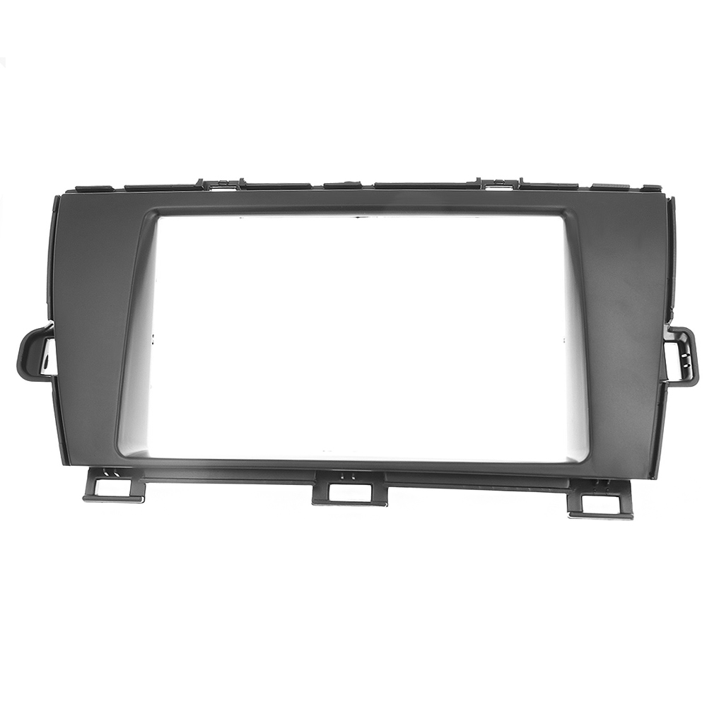 Top quality 2 DIN Car Radio Fascia for TOYOTA Prius LHD 2010+ stereo fascia frame panel dash mount kit adapter trim Bezel facia-in Auto Fastener & Clip from Automobiles & Motorcycles    1