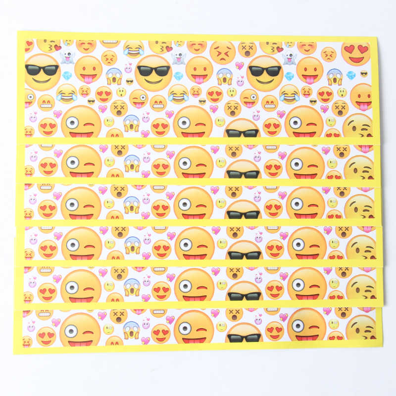 Detail Feedback Questions About 12pcs Emoji Cartoon Water Bottle Label Candy Bar Decoration Kids Birthday Party Supplies Baby Shower On Aliexpress