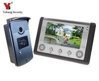 DHL Freeshipping 7 Video Intercom Door Phone System Night Version Doorbell Intercom Kit HD Doorbell Camera