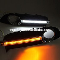 For Buick For Regal Verano Opel insignia 2009 2013 year LED DRL Daytime Running Light with Turning Function
