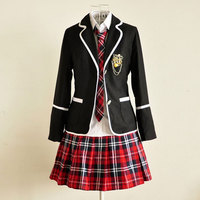 Children Competition Girl School Team Uniforms KidS Performance Costume Sets Girls Class Suit Girl Student Suits