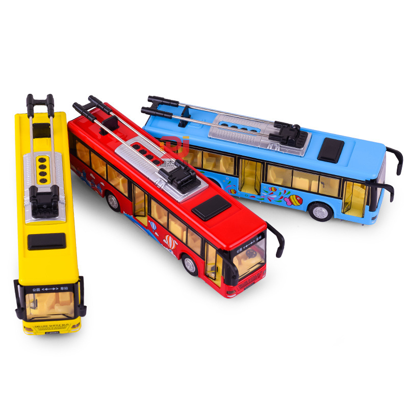EFHH 1 50 Simulation Alloy City Single Bus Vehicle Model Diecasts font b Toy b font
