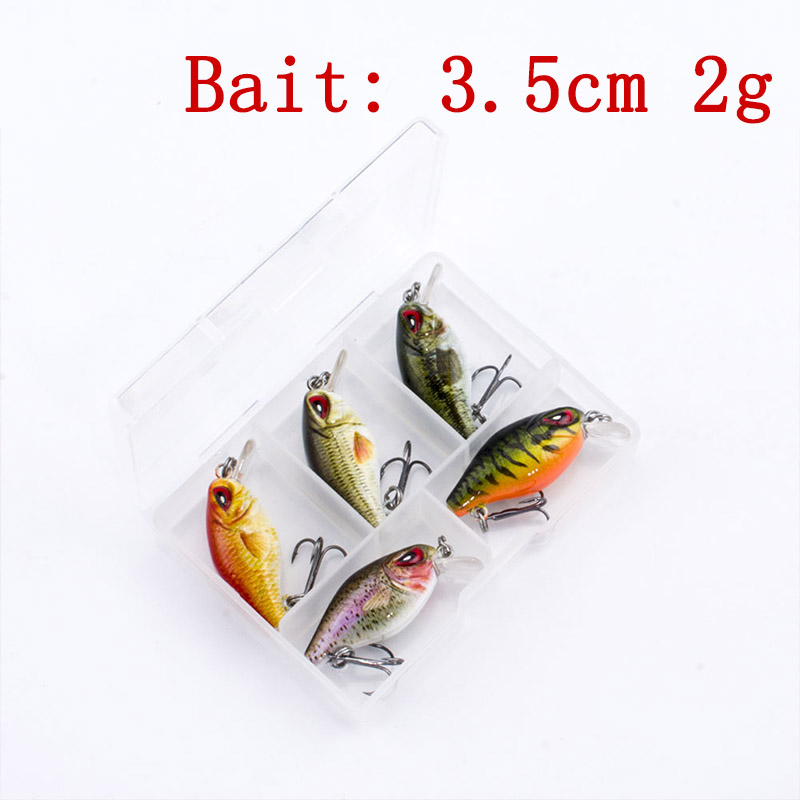 4cm 4.2g Artificial Insects Fishing Lure Lifelike Eyes Bionic Bait Crankbait