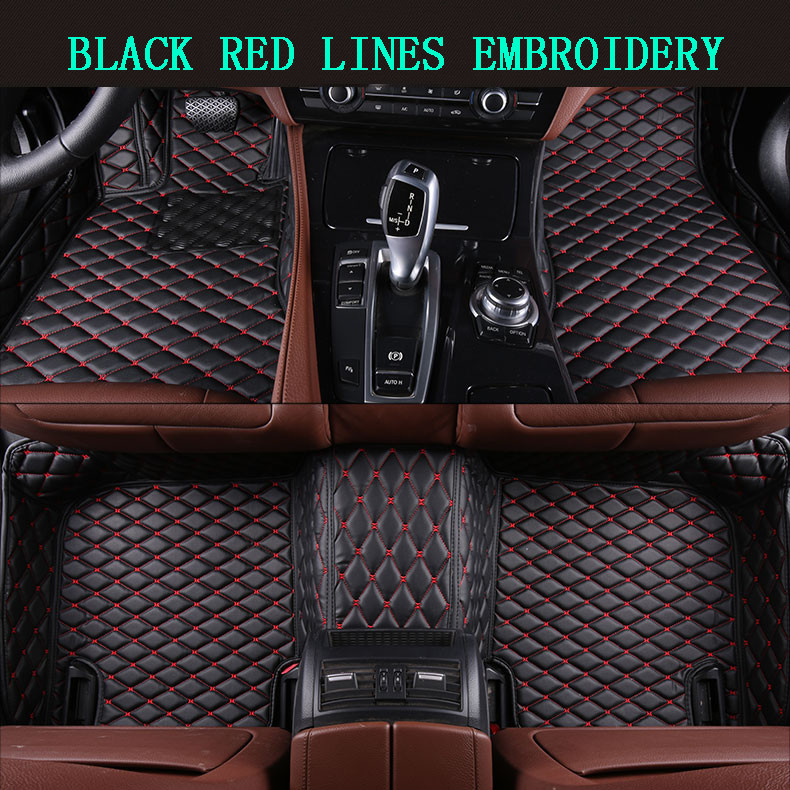 Auto Floor Mats For BMW 2 Series F46 2016.2017 Foot Carpets Step Mat High Quality Brand New Embroidery Leather MatsAuto Floor Mats For BMW 2 Series F46 2016.2017 Foot Carpets Step Mat High Quality Brand New Embroidery Leather Mats