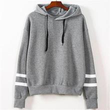 Womens Sweatshirt Jumper Hooded Pullover Tops Fashion Long Sleeve Hoodie Dropshipping