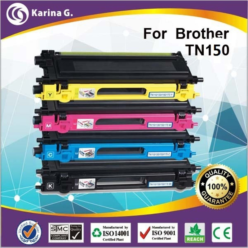 Compatible Toner Cartridge for TN150 For Brother DCP-9040CN DCP-9042CDN DCP-9045CDN 4pcs compatible ink cartridge brother lc110 for dcp j132n dcp j137n dcp j152n