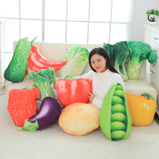 Vegetable Plush Pillow