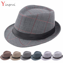 New spring and summer fashion gentleman Cowboy hats men s caps jazz hat  male outdoor hat British d4ae623ba3e