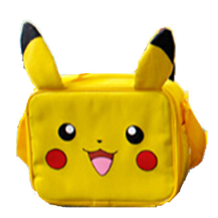 New Lunch Bag Bolsa CASO Pikachu Pokemon Pikachu Bolsa de Transporte 25x8x20 cm