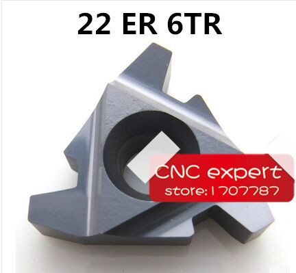 22 ER 6 0 TR trapezoidal carbide threading tools for machining for Threaded Cutter Lathe Tool