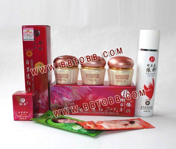 Originální YiQi Beauty Whitening 2 + 1 účinná v 7denní (zlaté) vysoké láhvi