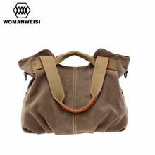 Womanweisi marke 2017 frauen tasche damen umhängetasche dollar preis vintage frauen leinwand handtaschen berühmte marke weibliche kabelky