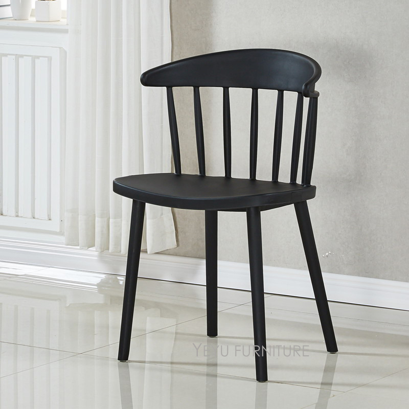 Colorful Dining Chair: Modern Design Plastic PP Fashion Colorful Dining Chair