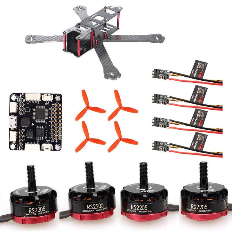 QAV-R 220mm 180 260 quadcopter frame Emax RS 2205 2300kv 5045 propeller for racing mini drone Lightning 20A 30A qav-r diy fpv mini qav r 260 frame quadcopter pure carbon frame 4 2 2mm emax mt2204 2300kv cc3d naze32 rev6 10dof bl12a esc 5045