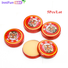 5pcs/lot InniFun Natural Tiger Balm Essential Oil Treatment Of Influenza Cold Headache Dizziness Muscle Ointment