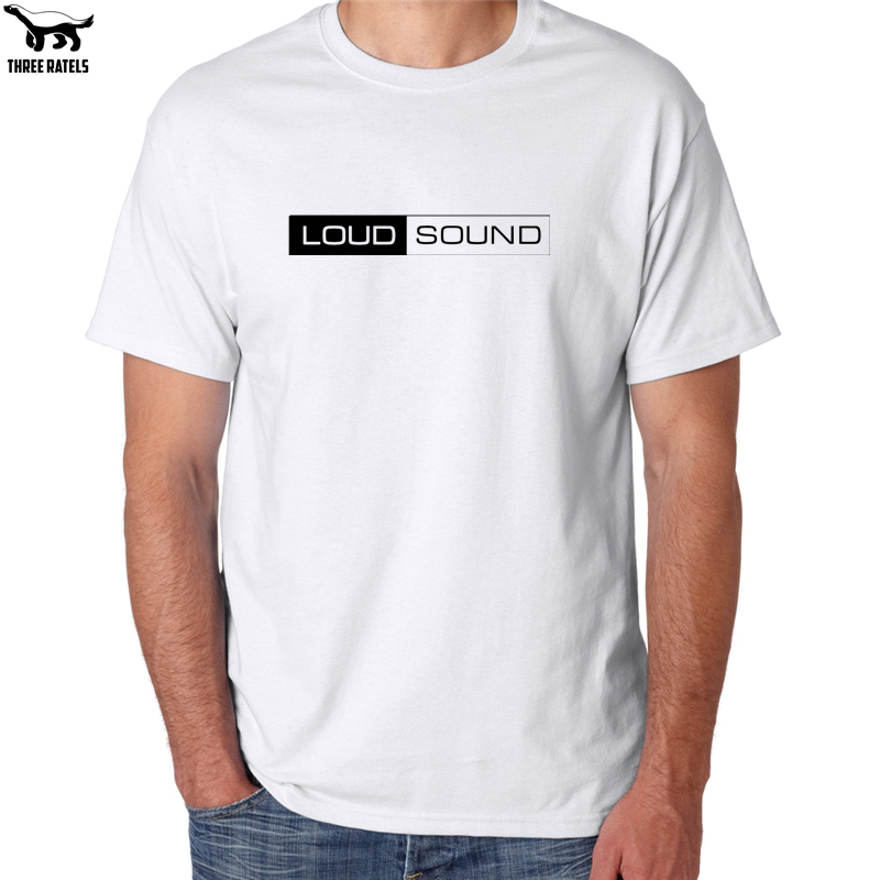 Three Ratels FUT371 LOUD SOUND tshirt men t-shirt tops