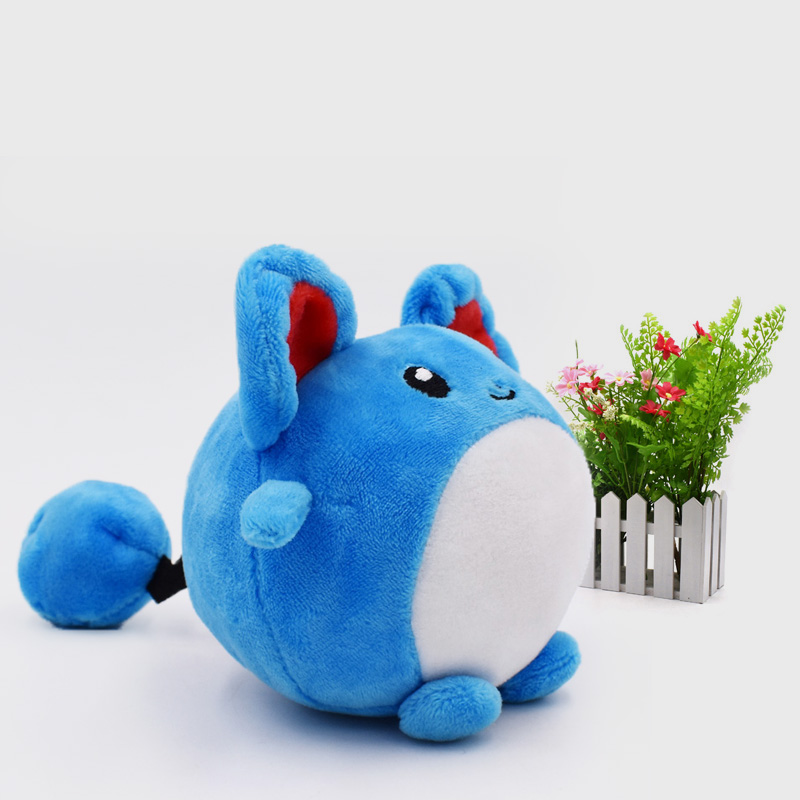 9 cm Anime Peluche Toy Marill Animal Stuffed Plush Baby Toys Great Christmas Gift For Children baby toys