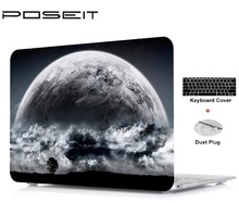 2019 New For Apple Macbook Touch Bar 13 15 Air11 13 Pro 13 15 Retina12 13 Hard Case Cover Laptop Shell+Keyboard Cover+Dust Plugs