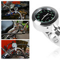 2016 Life Waterproof Motorcycle Handlebar Clock Fashion Style Silver Color Motorcycle Accessories Handle Bar Mount Clock Watch