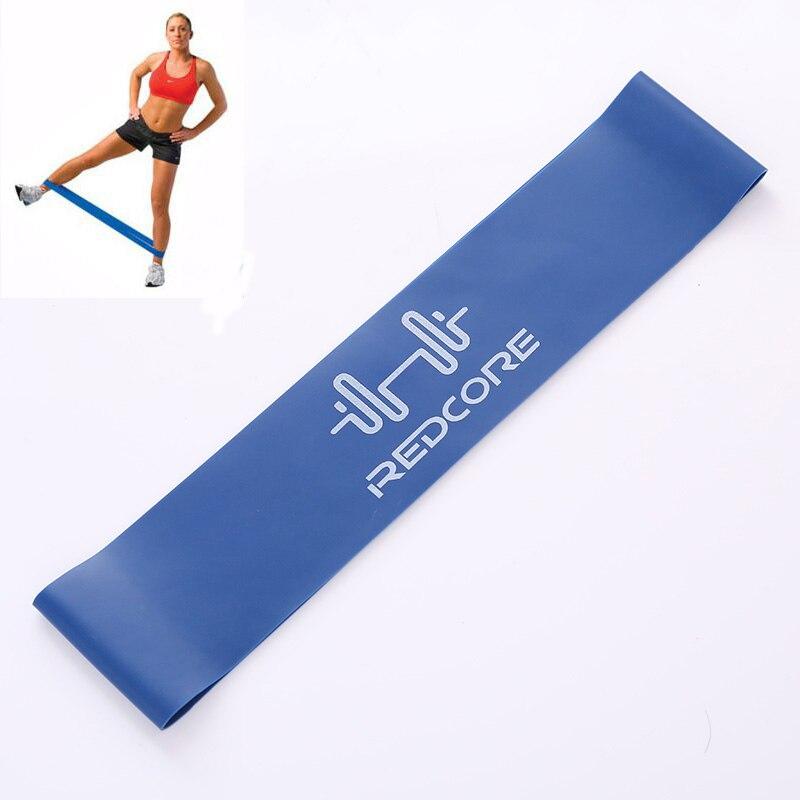 0.7mm Gerginlik Yoga Direnç Band Egzersiz Mavi Spor Crossfit Mukavemet Ağırlık Eğitim Bant Spor Ekipmanları