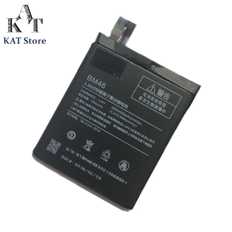 Battery-Bm46 Xiaomi Redmi Mobile-Phone-Battery Note 3-Replacement 4000mah Original