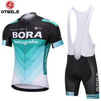 BORA 2018 Mens Cycling Jersey Sets Pro Team MTB Gel Pad Racing Bicycle Clothing Breathable Bike