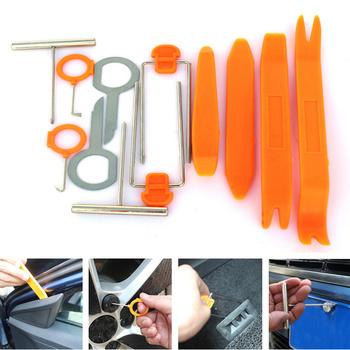 12 sztuk zestaw plastikowe podważ narzędzie narzędzie do usuwania wykończenia akcesoria samochodowe dla Jeep Cherokee Comanche dowódca Commando kompas dyspozytor tanie i dobre opinie Cała powierzchnia CN (pochodzenie) Inne Inne naklejki 3d Zmieniające kolor Plastic Iron 12JGJ010