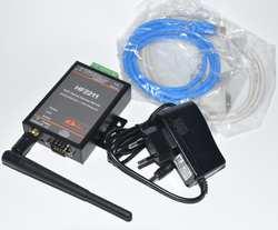 HF2211 Modbus последовательный RS232/RS485/RS422 к Ethernet/Wi-Fi модуль преобразования, Поддержка веб-оты Wirelss обновления
