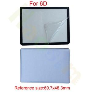 Image 4 - 10pcs חיצוני חיצוני LCD מסך מגן חלקי תיקון עבור Canon 5D 5D2 6D 40D 50D 60D 400D 450D 500D 550D 600D 1000D1100D SLR