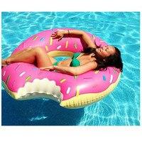 0.24mm grubości donut pierścień pływanie Zabawki Basen Nadmuchiwany Pierścień Pływać Pływak Dla Dorosłych Basen Pływa Lato Woda Zabawka Dla Famliy