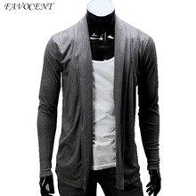 Бесплатная доставка осень новое прибытие мужская мода кардиган куртки свитер 2016 личности тонкий кардиган мужской верхней одежды