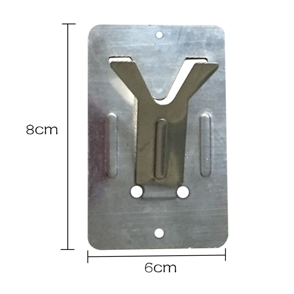 Soldering Iron Stand Holder 50*80mm Y-Type Simple Electric Soldering Iron Support Frame
