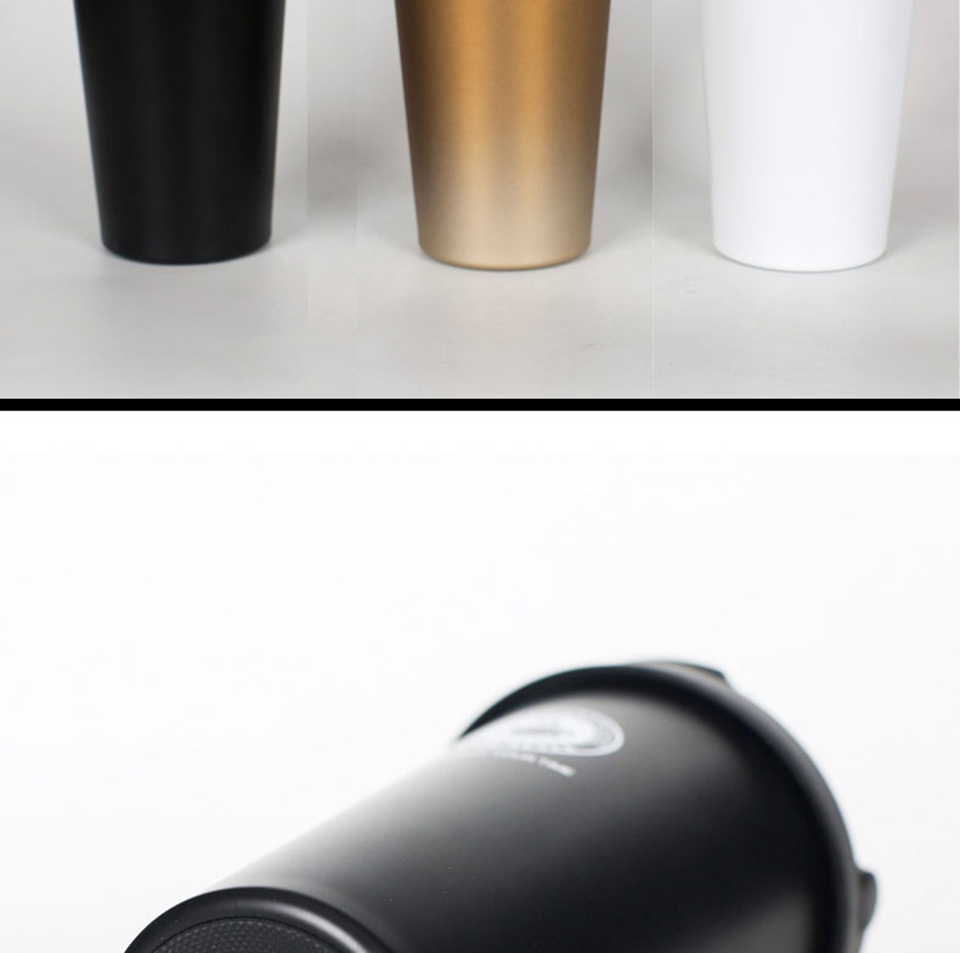 LIYIMENG 500mL Office Travel Coffee Mug 304 Stainless Steel Classical Mug Milk Tea Cup Water Bottle 5