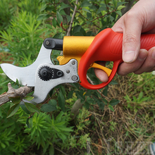 Electric pruning shears garden pruners pruning saw secateurs professional portable pruner for vineyard orchards CE free shipping