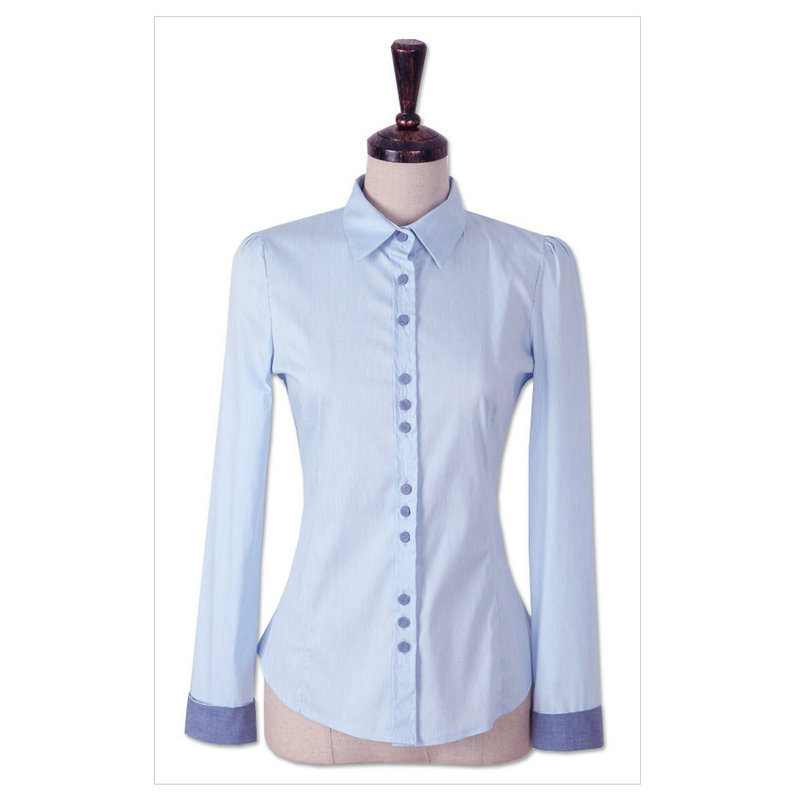 Aliexpress.com : Buy Elegant Office Ladies Shirts Long Sleeve ...